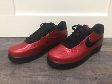 Nike Air Force 1 AF1 Foamposite Pro Cup Gym Red/Black AJ3664-601 Men's Size 11