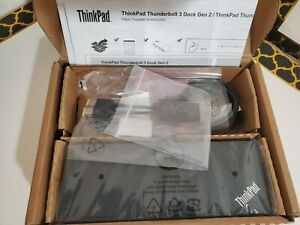 *READ PLS* Lenovo ThinkPad Thunderbolt 3 Workstation Dock Gen2 (40ANY230US 230W)