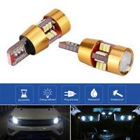 2Pcs Universal Car Canbus Error Free T10 4014 27-SMD W5W LED Marker Light Lamp