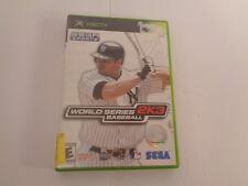 World Series Baseball 2K3 Microsoft Xbox 2003 CIB Complete Video Game Tested
