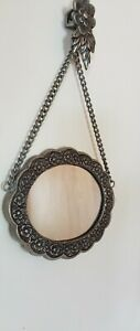 Small Hanging Mirror--Reversible