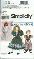 S 7698 sewing pattern Daisy Kingdom DRESS ROMPER Playsuit sew girls' sizes 3,4,5