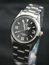 Brand New Alpha Explorer mechanical automatic men's watch Matte Black
