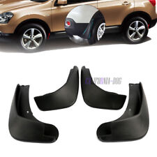 4Pcs Guards Mudflaps Exterior Mud Flaps Splash For Nissan Qashqai 2007 - 2013