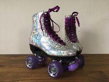 Sure Grip Prism holo sparkle quad outdoor Roller Skates Men 5 purple