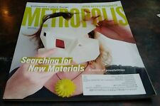 Metropolis Magazine April 2014 Architecture Culture Design New Materials