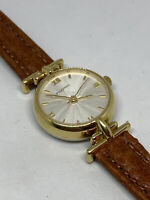 Vintage Fossil Ladies Watch PC-9269 Faceted Crystal Barely Ever Used New Battery