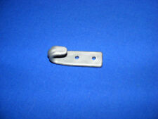 10 x Flachhaken Planenhaken Haken Kunststoff Polyamid 6 verstärkt silber 66x20mm