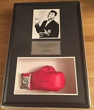 MUHAMMAD ALI SIGNED GLOVE STEINER SHADOWBOX LIMITED #1/10 OLYMPICS ITALY 1960