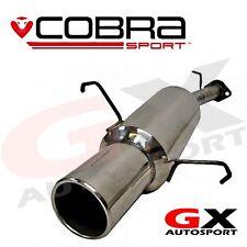 Vc21 Cobra Sport Opel Corsa C 1.2 Y 1.4 Gasolina 00-06 Trasero Caja Posterior De Escape