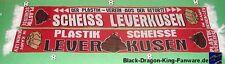 "Anti Leverkusen Schal ""Retortenverein"" Ultra Fan Block 100% Acryl NEU +150x15 cm"