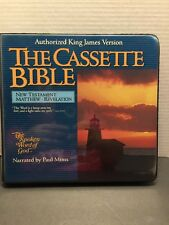THE CASSETTE BIBLE New Testament KJV Narrated by Paul Mims Spoken word of God