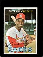 1967 TOPPS #285 LOU BROCK EXMT CARDINALS HOF  *X01852