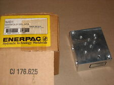 ENERPAC, MB-1, Single Station Manifold,  New Old Stock