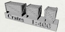 Caisses en résine au 1/400 x30