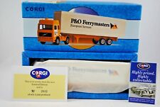 Corgi 98103 VOLVO Globetrotter Truck & P&O Container Trailer Limited Edition