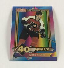 1994 Topps Hockey Card Premier Finest Mark Recchi (Flyers) LB02