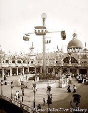 Whirl of the Wind Ride, Coney Island, New York - 1905 - Historic Photo Print