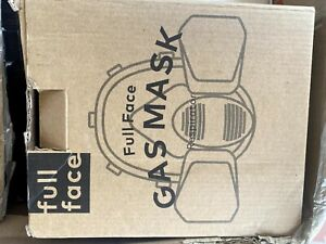 BearHoHo Full Face Gas Mask Vapor Respirator for Protection from Chemicals Paint