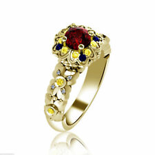 Wedding Ruby Sterling Silver Fine Rings