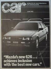 1985 mazda 626 specs