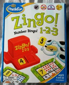 THINKFUN : ZINGO! ~ 1 2 3 Number Bingo