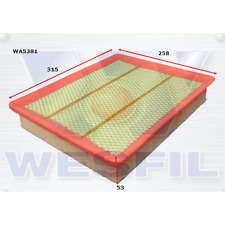 WESFIL AIR FILTER FOR FOTON TUNLAND P201 11.12-on 2.8L DIESEL TURBO CUM ISF