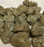 IRON PYRITE 1/4 Lb Lots Natural Chispa Crystal MInerals Fools Gold