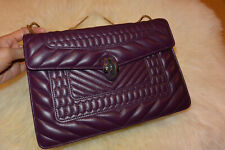 NWT BVLGARI BULGARI Serpenti Forever Shoulder Bag Quilted Scagile Leather $3267