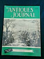 Antiques Journal 1952 Valentine Molds Wedgwood Majolica Moss Rose China Lincoln