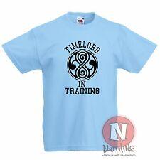 ropa de entrenamiento infantil Camiseta 3-13 Años Estampado Dr Who VENTILADOR