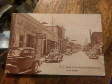 CALLE ELIAS, NOGALES SONORA MEXICO ELIAS STREET  Postcard  Posted