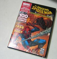 Marvel 100 Digital Comics:The Amazing Spider-Man ~ Jan 1998-Apr 2007 DVD-ROM