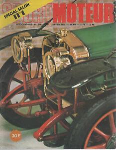 SPORT MOTEUR 218 1971 1000KM BUENOS AIRES NOUVEAUTES 1971 TRANSFO ARBRE A CAMES