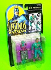 Legends of Batman THE RIDDLER Action Figure w Collector's Trading Card Launcher