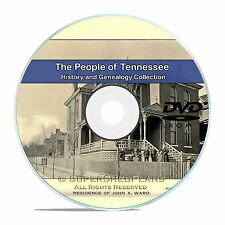 Tennessee TN, Civil War, Family Tree History and Genealogy 245 Books DVD CD B16