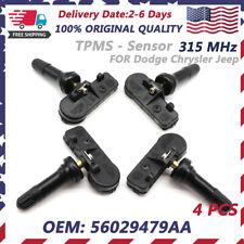 56029479AA TPMS Tire Pressure Sensor For Dodge Jeep Wrangler Grand Cherokee OEM