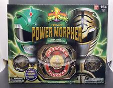 Bandai Power Rangers - Legacy Power Morpher - Green & White Ranger Edition *NEW*