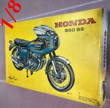 Heller Honda 950SS Bike 1/8 Scale Plastic model hard to find Rare Item