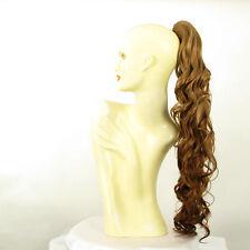 Hairpiece ponytail wavy long dark blond copper 65 cm ref 10 g27 peruk