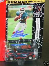 NFL 2004 Diecast Hummer H2, Buffalo Bills, NEW