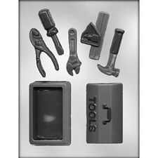 Tool Box and Tools 3D Chocolate Mould