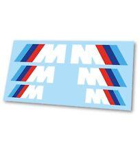 x6 BMW M Sport M1 M2 M3 M4 M5 Logo Badge Hi Temp Brake Caliper Stickers Decals