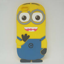 """Funda Carcasa Silicona 3D Minion Iphone 6 4,7"""""""