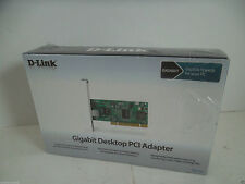 D-Link Gigabit PCI Ethernet Adapter RJ-45 32-Bit Bus Master DGE-530T SEALED NEW
