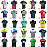 New Outdoor Road Bike Mens Fashion Cycling Jersey Shirts Tops Maillots Bike MTB