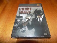 CRIME WAVE John Dillinger FBI Mobster Bank Robbery Guns History Channel DVD NEW