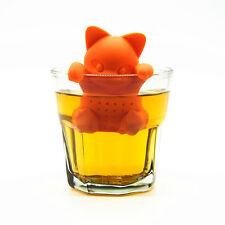 Le Gatto Infusore Infuso Té Filtro Infusore Da Tè Gatti Tea Cat Silicone Nuovo