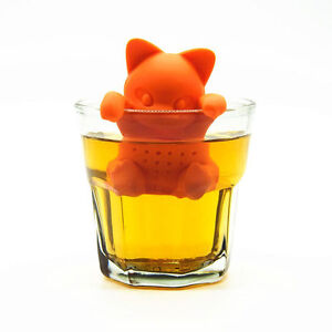The Cat Infuser Infusion Tea Filter Ball Cats Tea Cat Silicone New