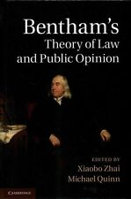 Bentham's Theory of Law and Public Opinion, , Very Good condition, Book